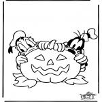Thema Kleurplaten - Halloween 2