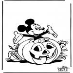 Thema Kleurplaten - Halloween 3