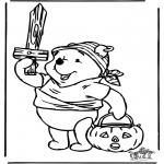 Thema Kleurplaten - Halloween 7