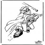 Stripfiguren Kleurplaten - Harry Potter 11