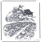 Stripfiguren Kleurplaten - Harry potter 4