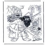 Stripfiguren Kleurplaten - Harry Potter 7