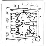 Stripfiguren Kleurplaten - Hello Kitty 15