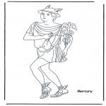 Allerlei Kleurplaten - Hermes