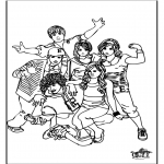 Allerlei Kleurplaten - High school musical 1