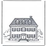 Allerlei Kleurplaten - Huis 1