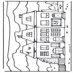 Allerlei Kleurplaten - Huis 2