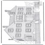 Allerlei Kleurplaten - Huis 3