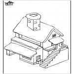 Allerlei Kleurplaten - Huis 4