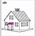 Allerlei Kleurplaten - Huis 5