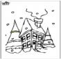 Huis in de sneeuw 2