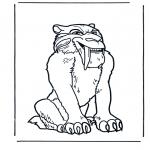 Stripfiguren Kleurplaten - Ice Age 1