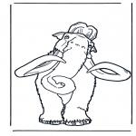 Stripfiguren Kleurplaten - Ice Age 2