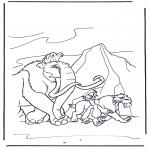 Stripfiguren Kleurplaten - Ice Age 9