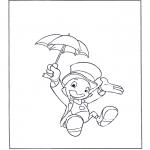 Stripfiguren Kleurplaten - Japie Krekel