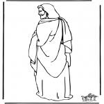 Kleurplaten Bijbel - Jezus 1