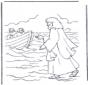 Jezus loopt op water