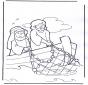 Jezus op boot