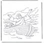 Jezus op het water 1