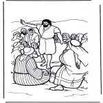 Kleurplaten Bijbel - Johannes de Doper