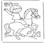 Jongentje op paard