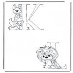 Allerlei Kleurplaten - K en L