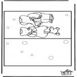 Knutselen - Kaart Babar