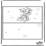 Knutselen - Kaart baby 3