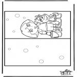 Knutselen - Kaart Dora 2