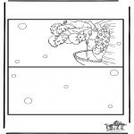 Thema Kleurplaten - Kaart geboorte 5