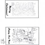 Knutselen - Kaart Kerst 2