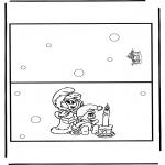 Knutselen - Kaart Kerst 9