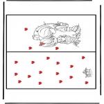 Knutselen - Kaart Valentijn 1