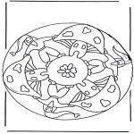 Mandala Kleurplaten - Kabouter Mandala