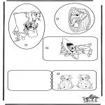 Knutselen - Kadolabel 101 Dalmatier