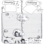 Knutselen - Kalender Deel 1
