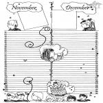 Knutselen - Kalender