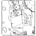 Allerlei Kleurplaten - Kamperen 2