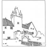 Allerlei Kleurplaten - Kasteel 3