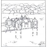 Allerlei Kleurplaten - Kasteel 4