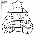 Kerst Kleurplaten - Kerst 21