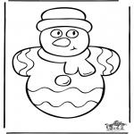Kerst Kleurplaten - Kerst 34