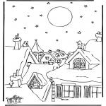 Kerst Kleurplaten - Kerst 38