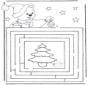 Kerst doolhof 3