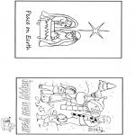 Kerst Kleurplaten - Kerst en nieuwjaar
