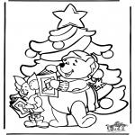 Kerst Kleurplaten - Kerst kleurplaat