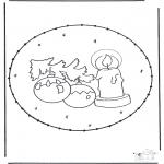 Kerst Kleurplaten - Kerst Prikkaart 16