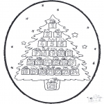 Kerst Kleurplaten - Kerst Prikkaart 20