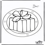 Kerst Kleurplaten - Kerst raamhanger 5