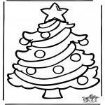 Kerst Kleurplaten - Kerst Window Color 6